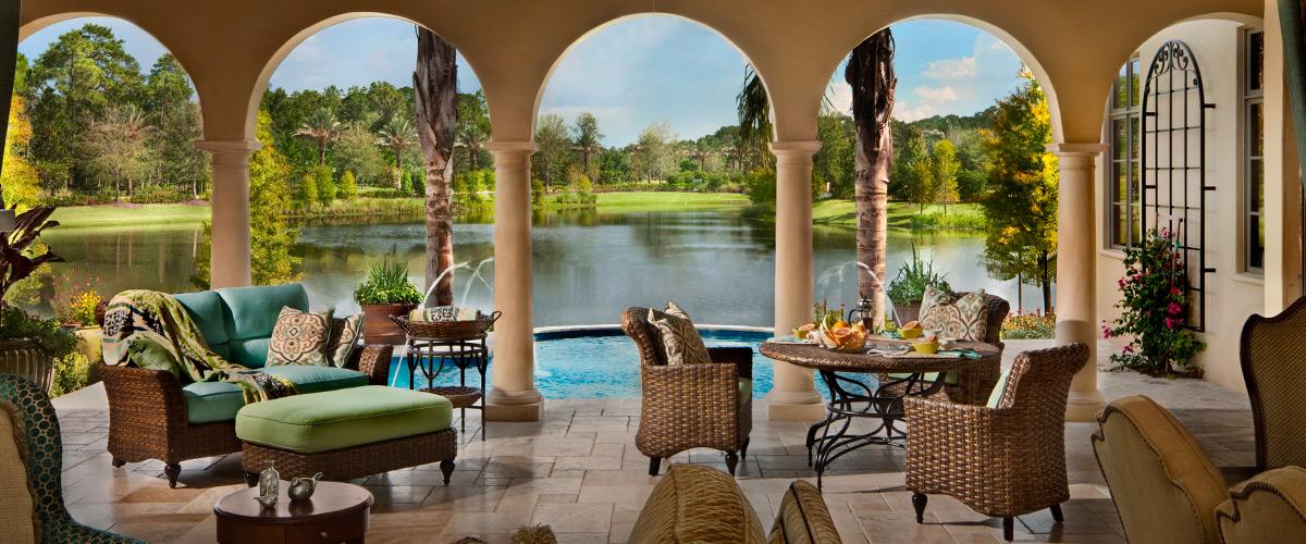 Orlando casas de luxo - Golden Oak Disney