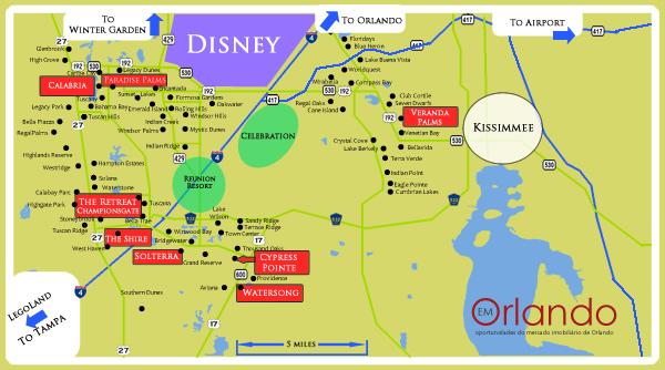 Casas de ferias em Orlando