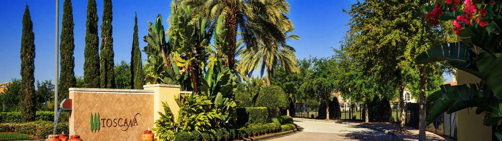 Lakeside at Toscana casas de luxo Dr Phillips