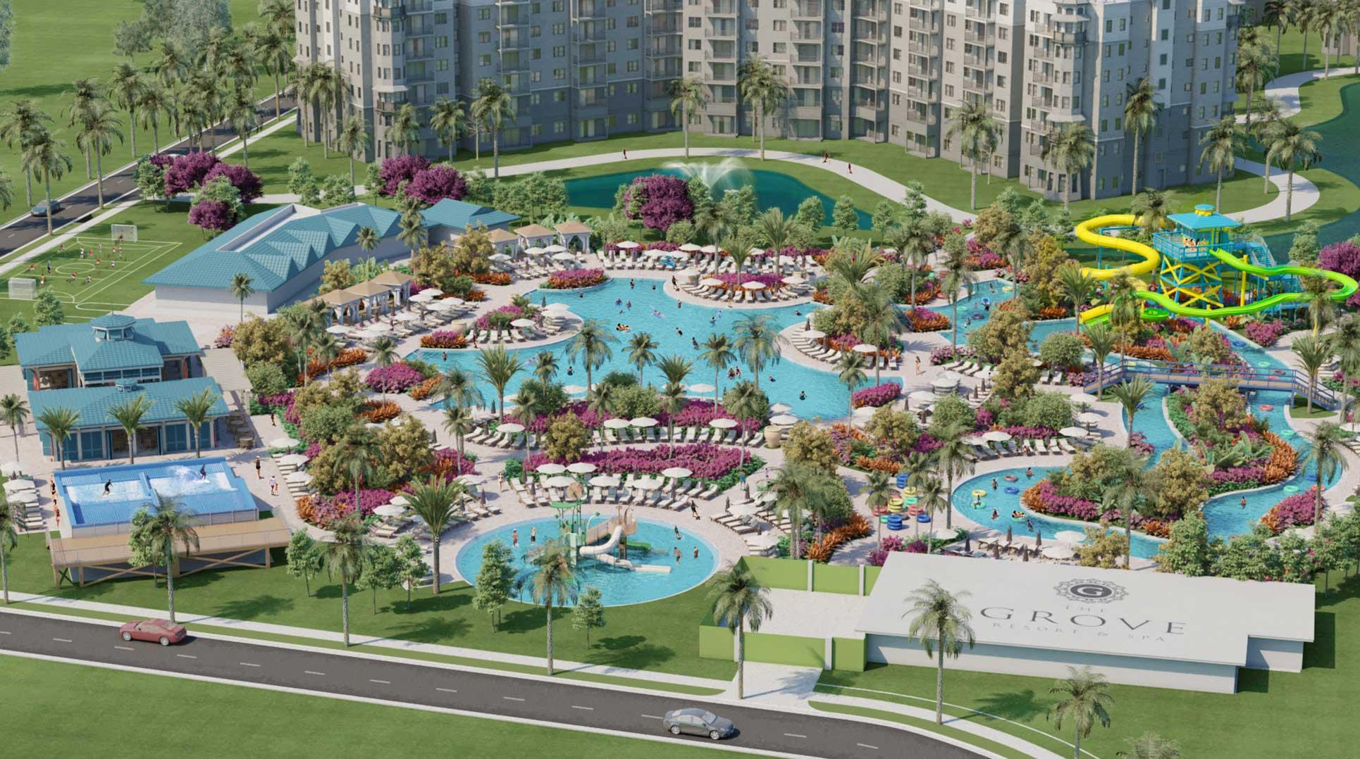 O Grove Resort em Orlando